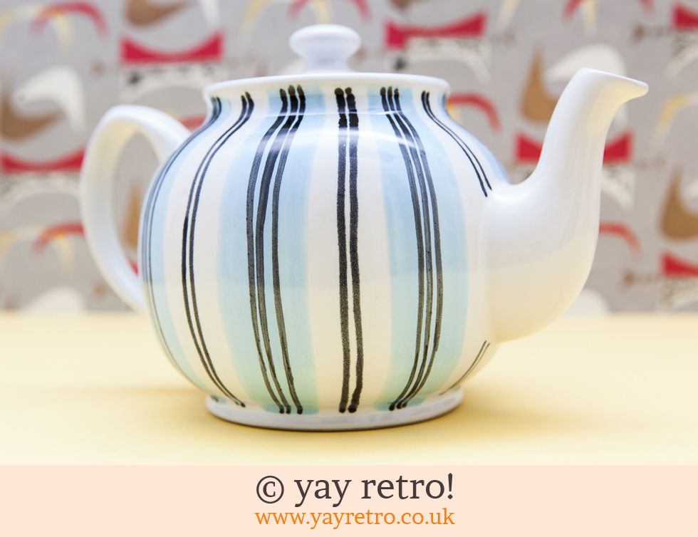 Sadler: Large Stripy Teapot (£16.50)