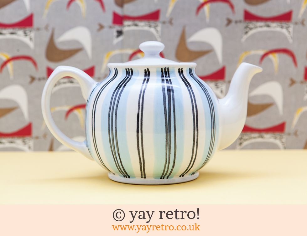 Large Stripy Teapot (£16.50)