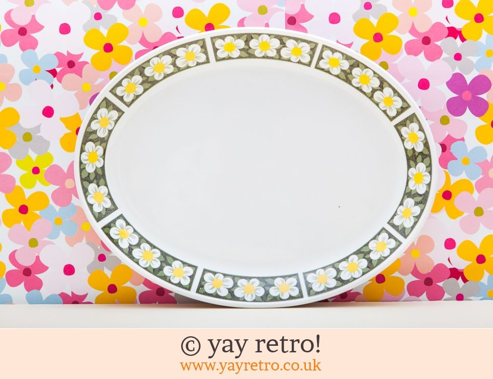 Johnson Bros: Flowery Oval Serving Plate (£6.00)