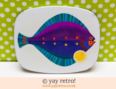 102: 1960/70s Fish Coaster Plaice - Rare (£14.95)