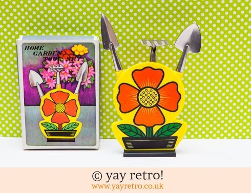 0: Flower Power Indoor Garden Tool Set - Unused in Box (£15.50)