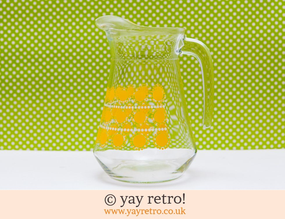 Yellow Daisy Sunny Glass Juice Jug (£12.00)