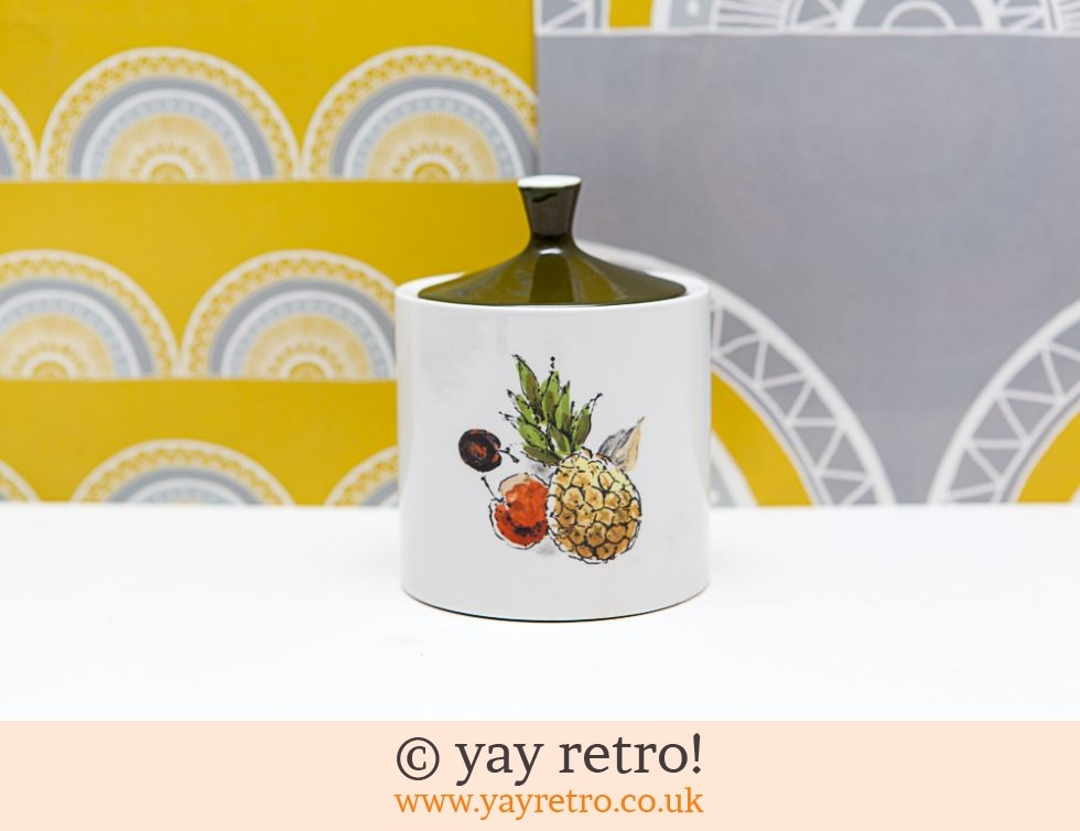 Lidded Hawaii Pineapple Pot (£6.95)