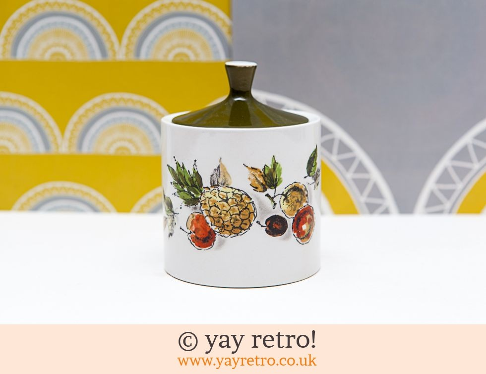 Myott: Lidded Hawaii Pineapple Pot (£6.95)