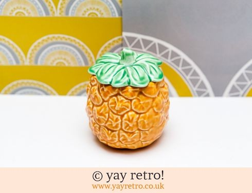 13: Sylvac Pineapple Preserve Pot (£12.75)
