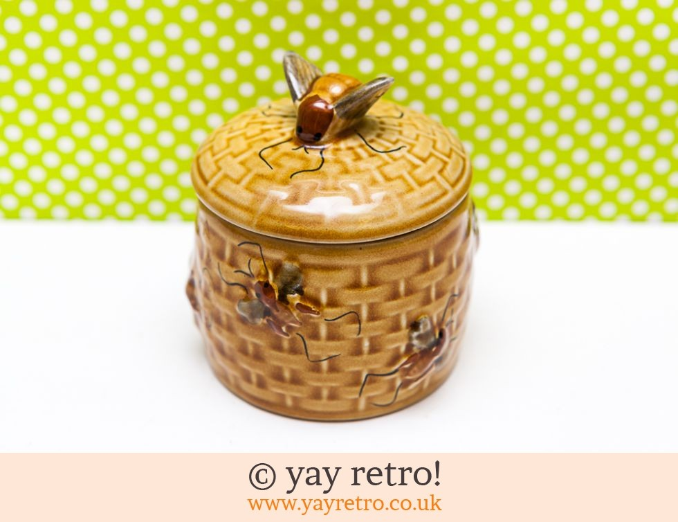 Vintage Preserve Pot Bumble Bee (£10.00)