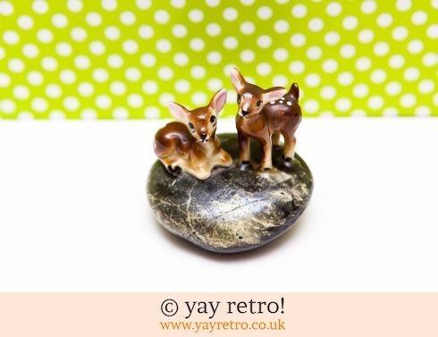 0: The Cutest Ditsy Deer Ornament! (£12.75)