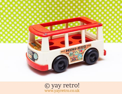 Fisher Price 1969 Mini Bus (£9.00)