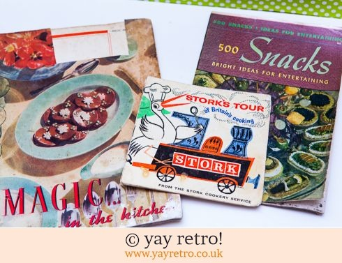 Trio Vintage Cookery Book 1940s - 70s (£9.00)