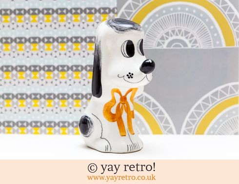 0: Large Italian Mid Century Dog Money Box (£12.95)