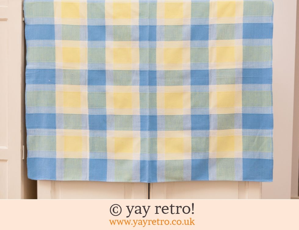 Pretty Check Tablecloth (£5.00)