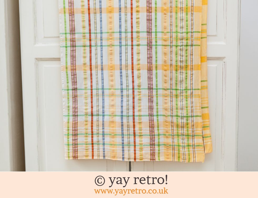 Seersucker Vintage Tablecloth (£10.00)