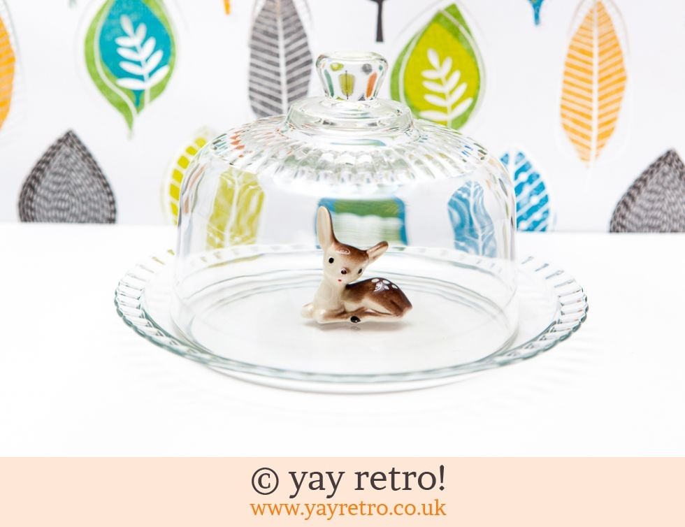 Arcoroc: Glass Cheese/Cake Dome (£9.00)