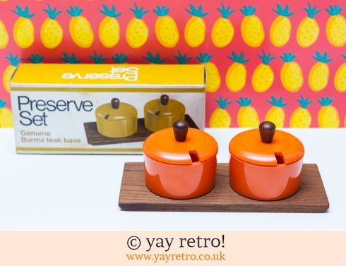 126: Stunning Luthje Orange Preserve Set (£27.50)