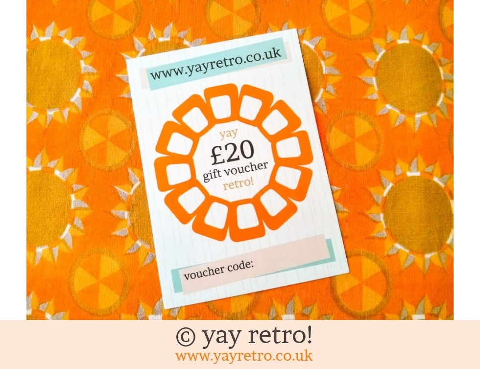 £20 yay retro! Gift Voucher (£20.00)