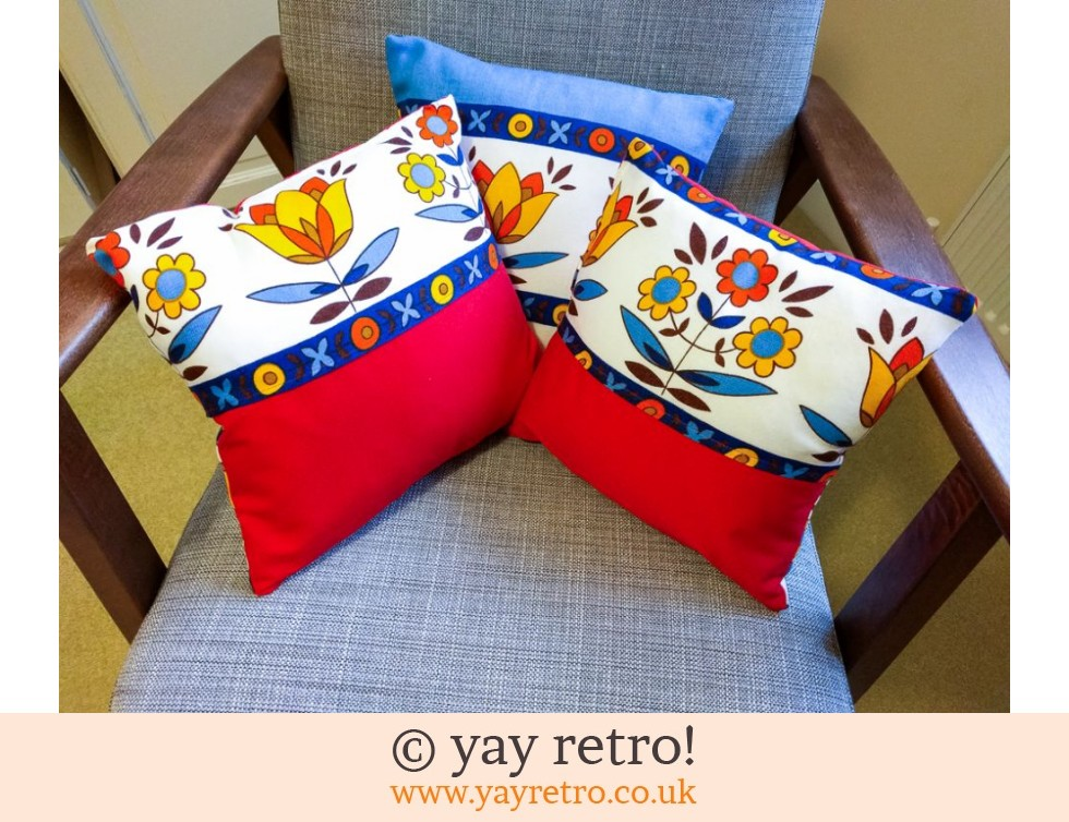 Red Scandi Scatter Cushion (£8.50)