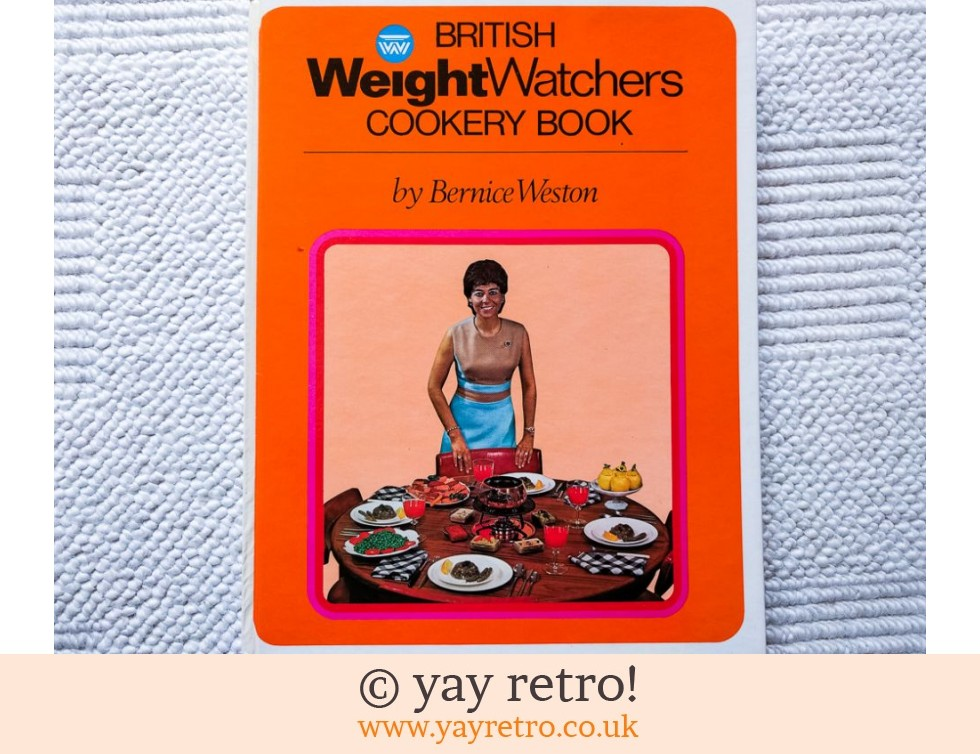 Weightwatchers Cookery Book 1970 Great Illustrations! (£7.00)