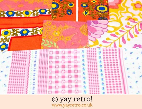 0: Red & Pink Scrap Pack 1960/70s (£8.95)