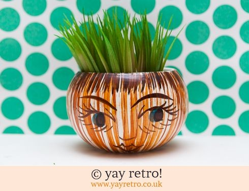 705: Large Beetroot Pot with Lovely Face! (£12.00)