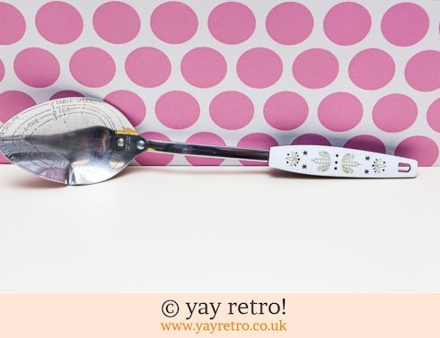 98: Vintage Measuring  Spoon Scandi Style (£8.00)