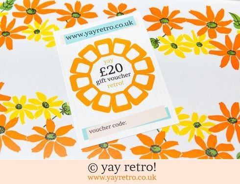 152: £20 yay retro! Gift Voucher (£20.00)