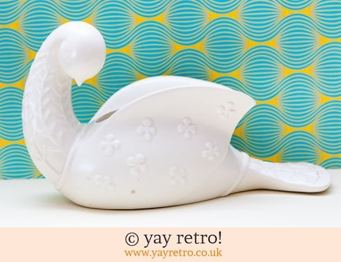 106: Very Rare Beswick Dove by Kathi Urbach - Scandi style (£29.95)
