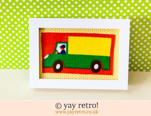 447: Galt Lorry Framed 4x4 (£8.00)