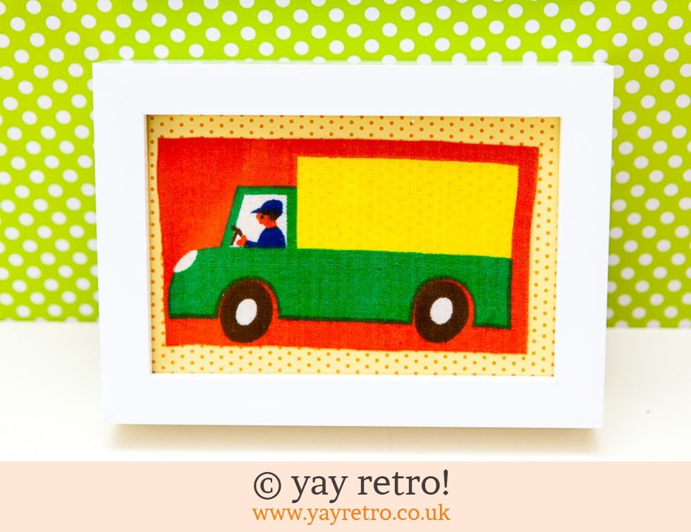 Galt Lorry Framed 4x4 (£8.00)