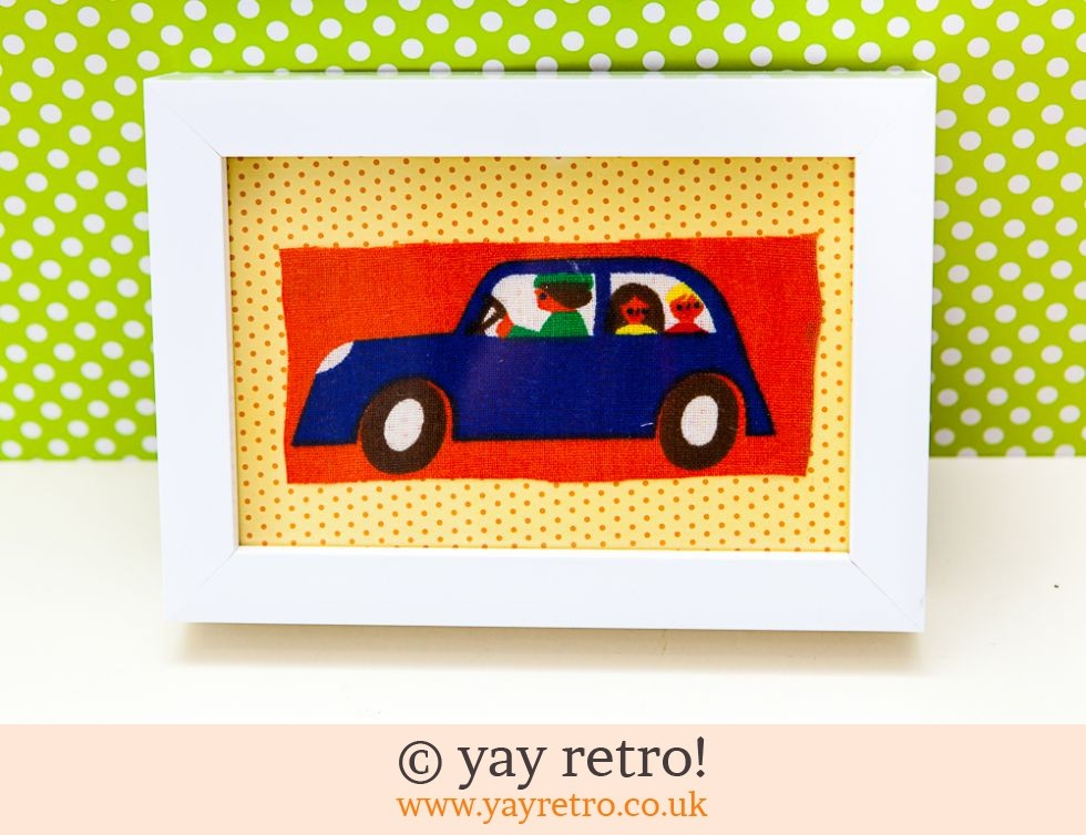 Galt Car Framed 6x4 (£6.00)