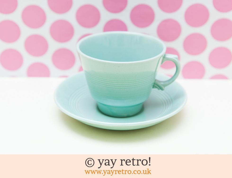 Woods Ware: XL Beryl Breakfast Cup & Saucer (£9.95)