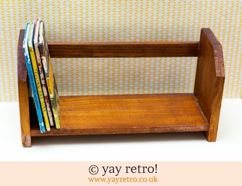 Vintage Table Top Book Shelf 1930/40s (£17.50)