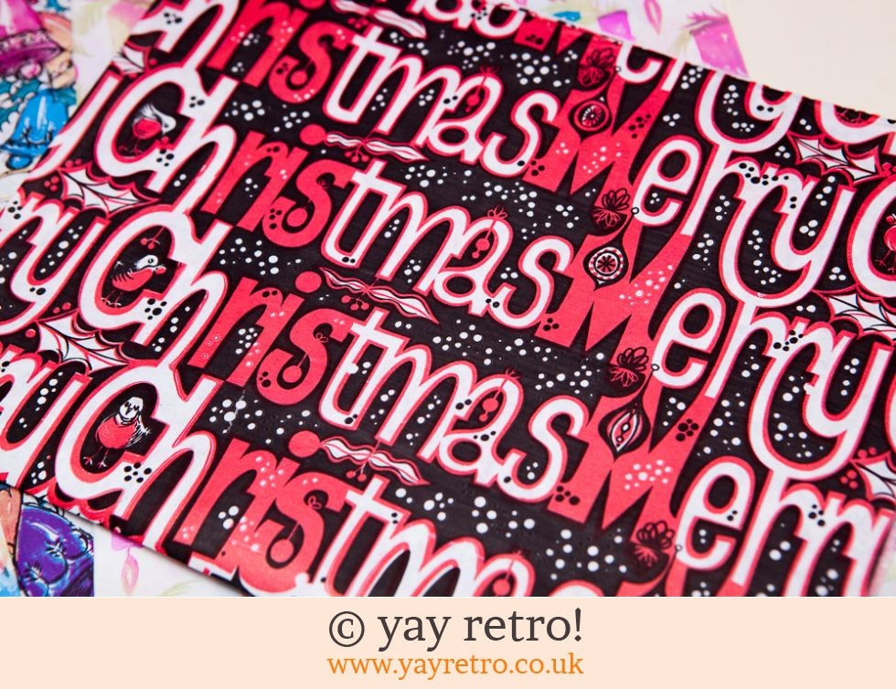Genuine Vintage Christmas Wrap (£6.00)