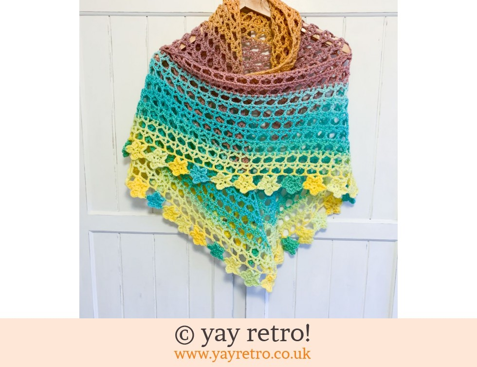 Pre-Order a 'Tea Flower' Crochet Shawl (£32.50)