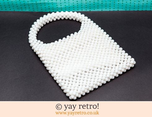 0: White Pea Bead Bag! (£9.00)