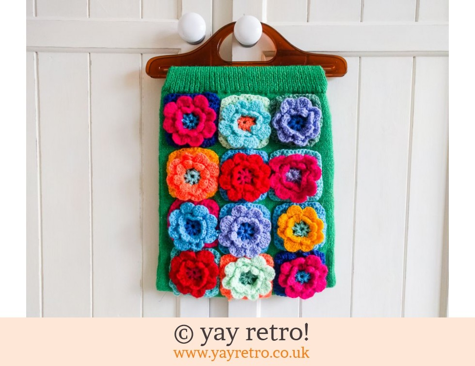 Stunning Crochet & Knitted HandBag (£13.00)