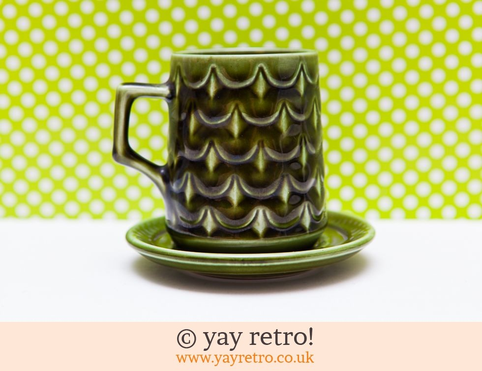 Vintage Pineapple Cup & Saucer - Very Rare (£12.95)