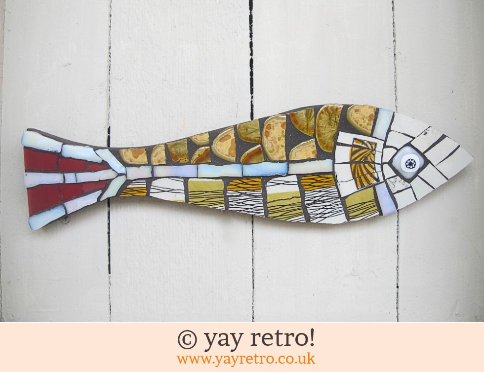 Pair Mosaic Midwinter China Fish (£48.00)