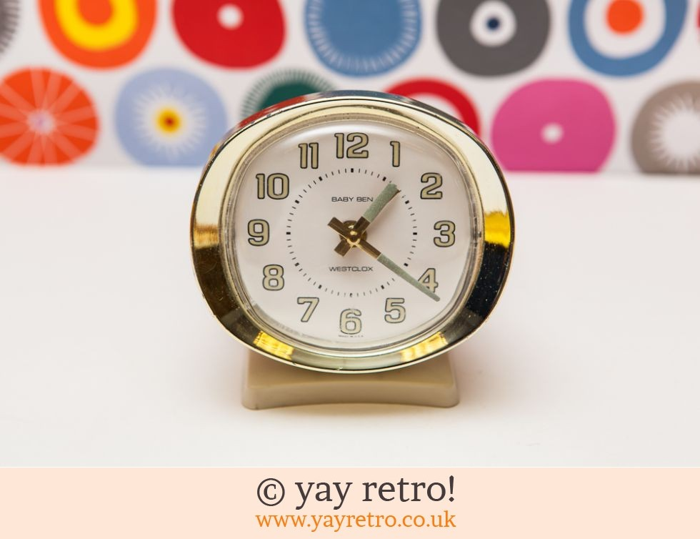 Baby Ben Vintage Alarm Clock Working Buy Yay Retro