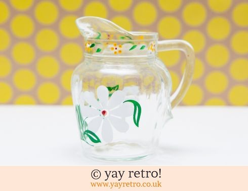 0: Happy Daisy Vintage Glass Jug (£4.00)