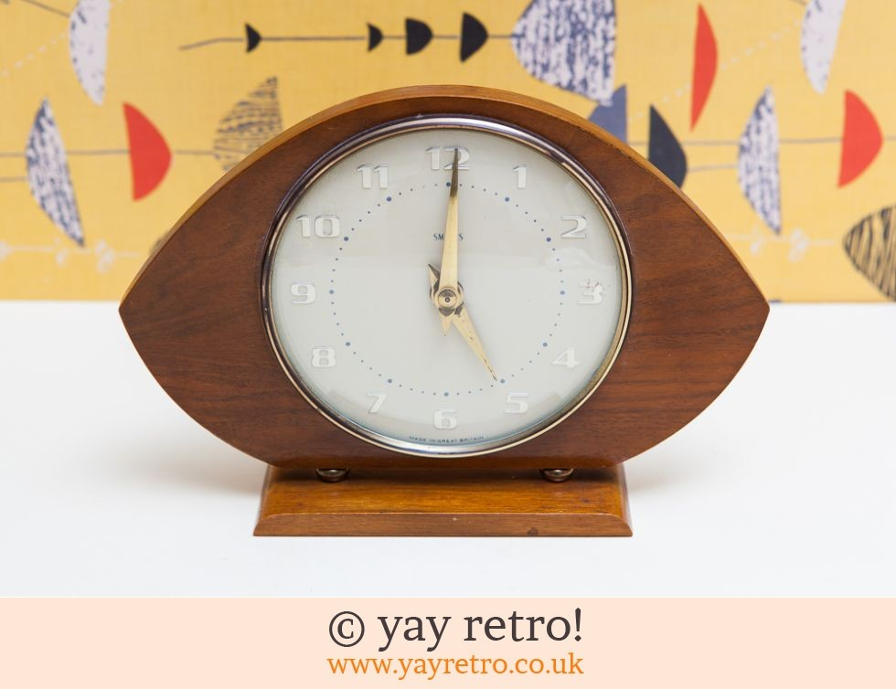 Smiths 50 60s Vintage Clock Buy Yay Retro Handmade