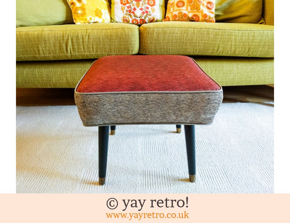 Stunning 1950s Stool With Dansette Legs Buy Yay Retro