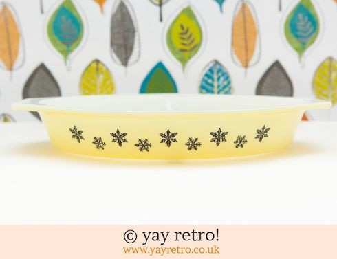 12: Yellow Snowflake Serving Dish (£12.50)