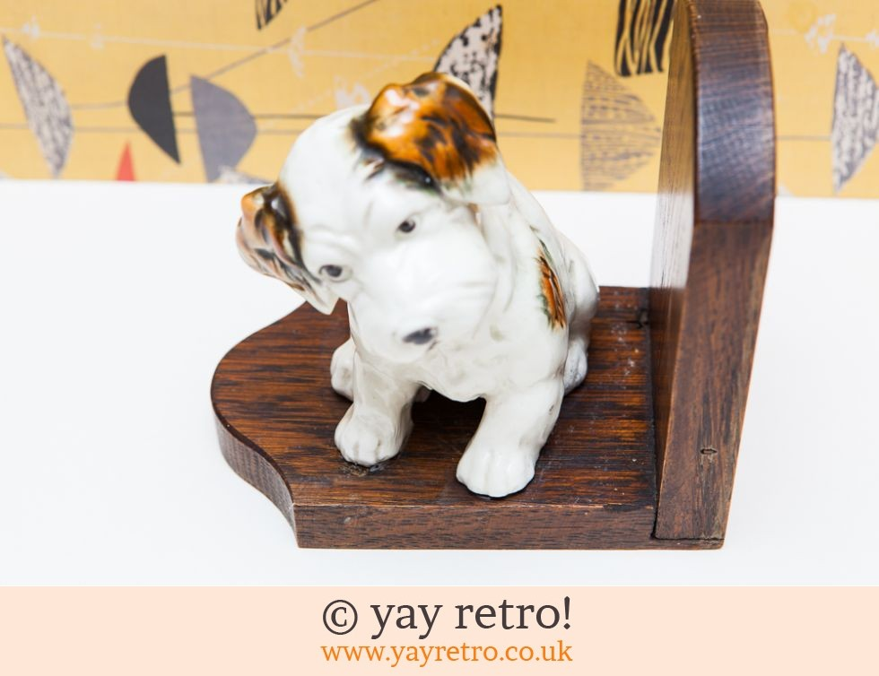Vintage Dog Bookend (£14.00)