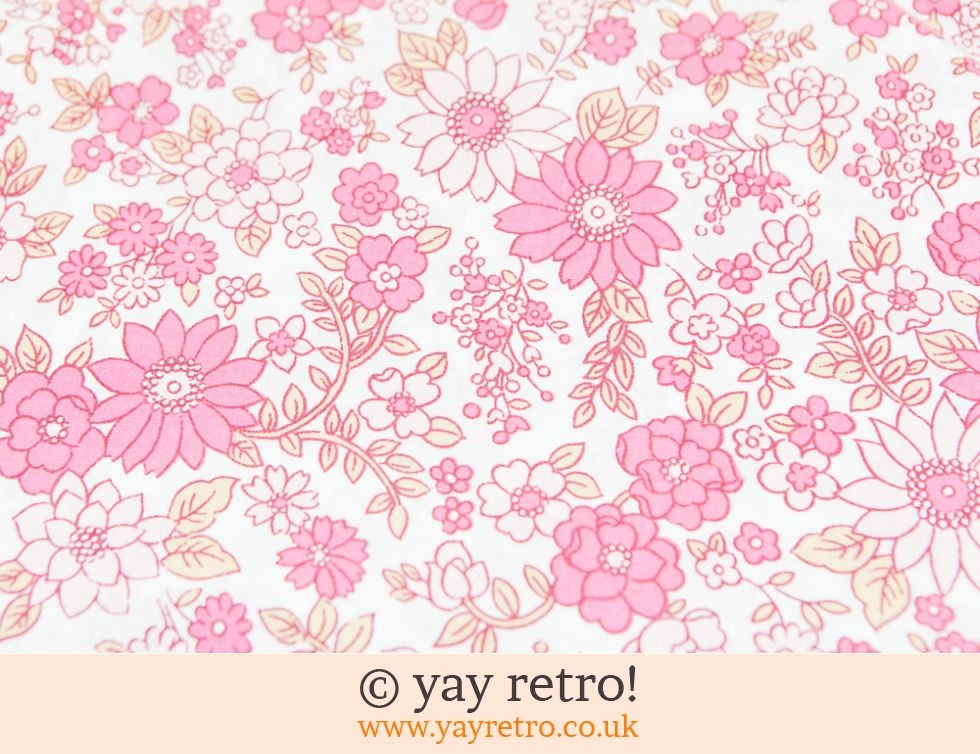 Vintage Pink Flowery Duvet Set Vintage Shop Retro China