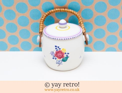 1: Cute Poole Biscuit Barrel Floral (£12.75)
