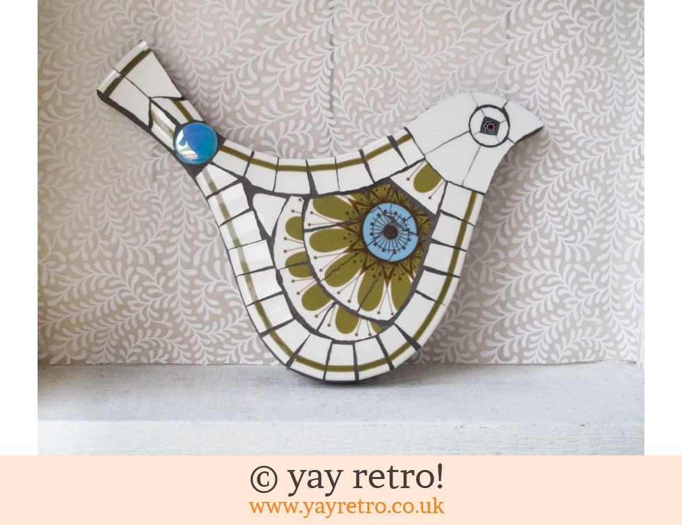 Galaxy Mosaic Bird Buy Yay Retro Handmade Crochet Online