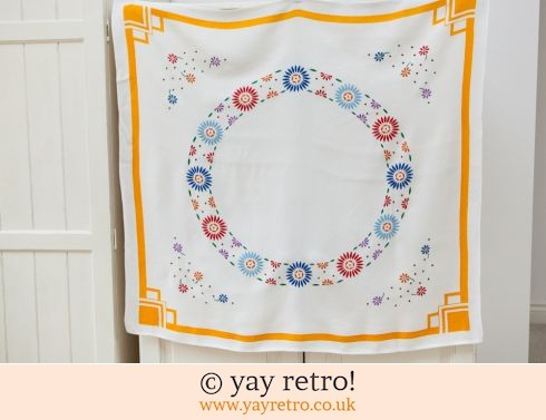 Embroidered Deco Tablecloth (£7.50)