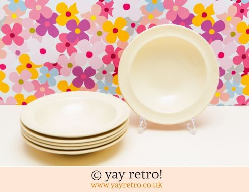 58: 6 Jasmine Soup Bowls/Dishes (£25.50)
