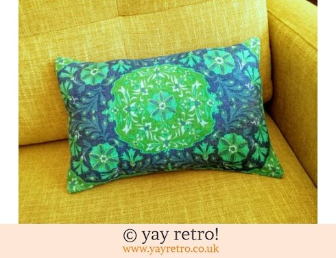 0: Vintage 60s Funky Linen Cushion (£12.95)