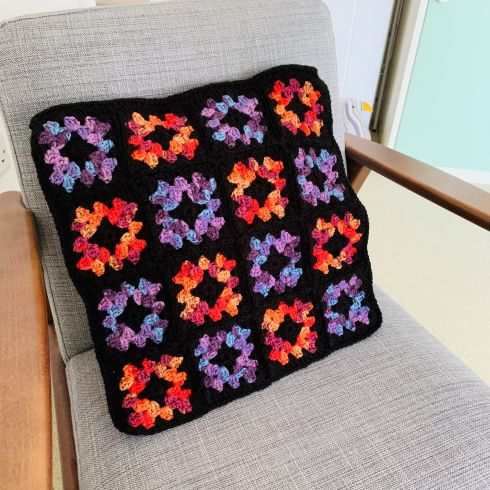 152: 'Stained Glass' Cushion Cover (£22.00)